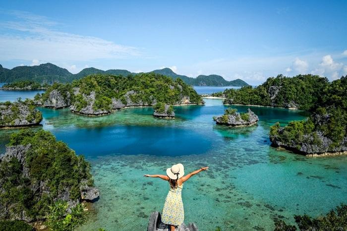 Những đầm phá bất tận ở Đảo Sombori - Đảo du lịch ở Indonesia