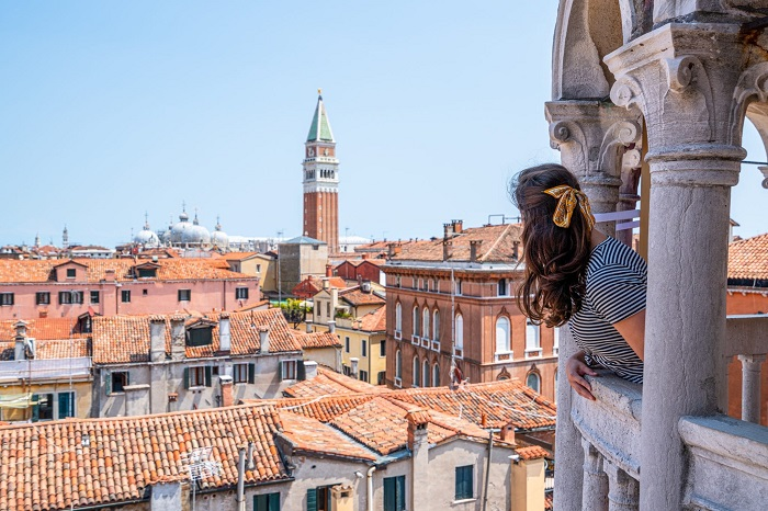 Thành phố Venice lãng mạn - Chợ Rialto Venice
