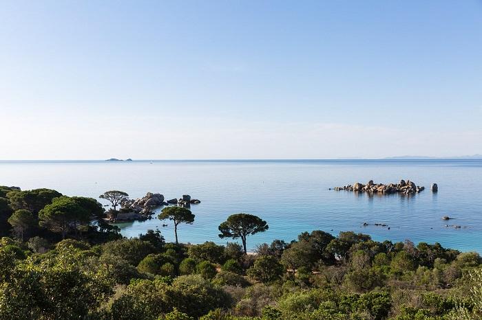 Landscape of Corsica - The island of Corsica, France