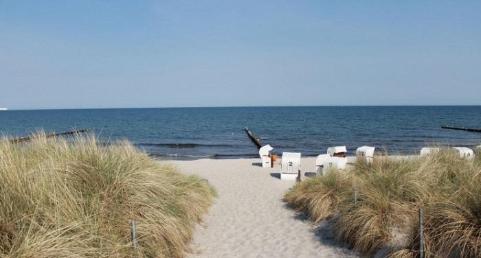 Rostock - Bãi biển ở Đức được yêu thích nhất