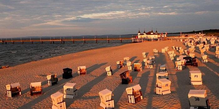 Usedom - Bãi biển ở Đức đẹp nhất