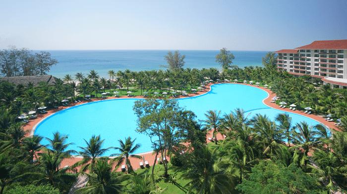 Combo 3N2Đ Vinpearl Phú Quốc tại Vinpearl resort & spa - thư giãn ở bể bơi
