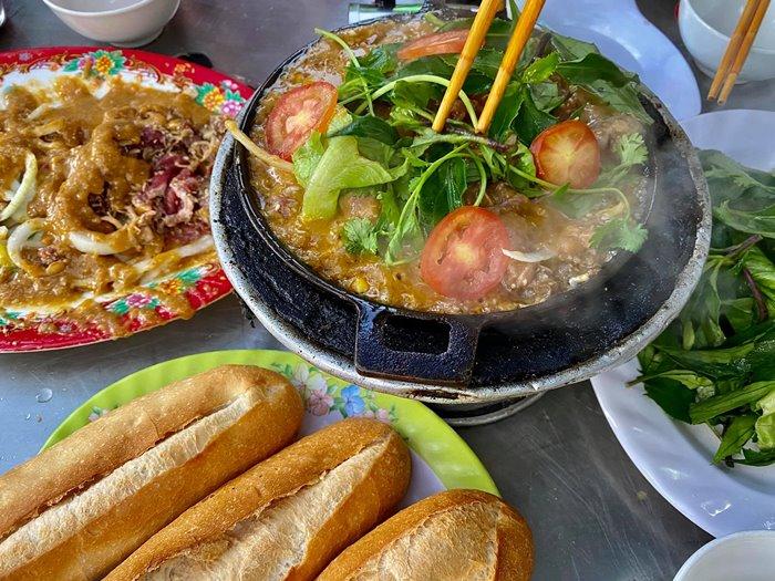 du lịch Buôn Ma Thuột ăn bò nhúng
