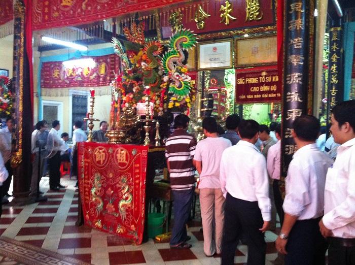 Các lễ hội ở thành phố Hồ Chí Minh- lễ giỗ tổ nghề kim hoàn