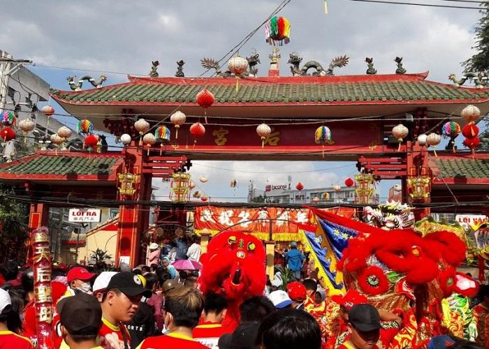 Các lễ hội ở thành phố Hồ Chí Minh- chùa bà Thiên Hậu