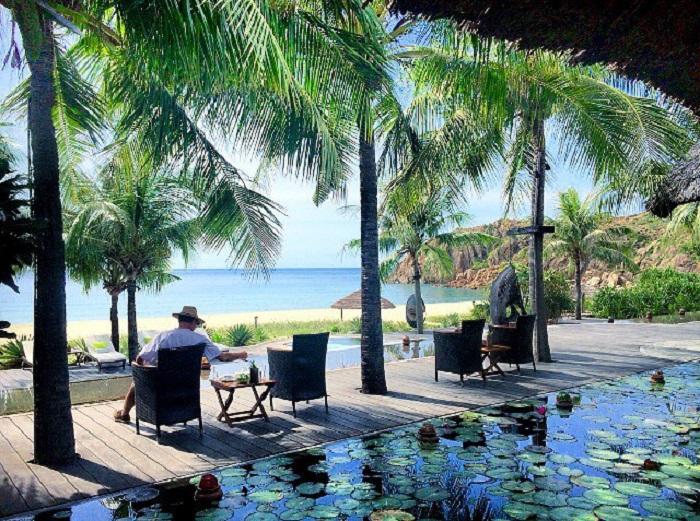 resort ở khu du lịch Bãi Tràm Phú Yên