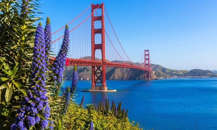 Cầu Cổng Vàng - Vịnh đẹp nhất thế giới