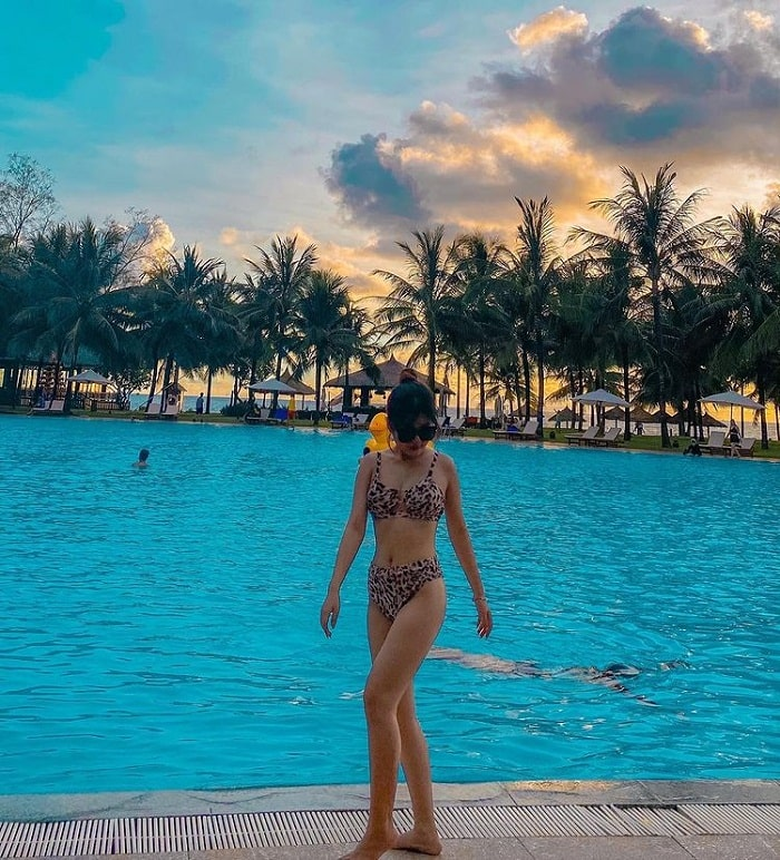 Combo 3N2Đ Vinpearl Phú Quốc tại Vinpearl resort & spa - bể bơi quy mô lớn