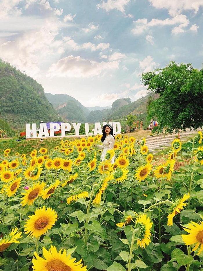 Check in ở khu du lịch Happy Land Mộc Châu