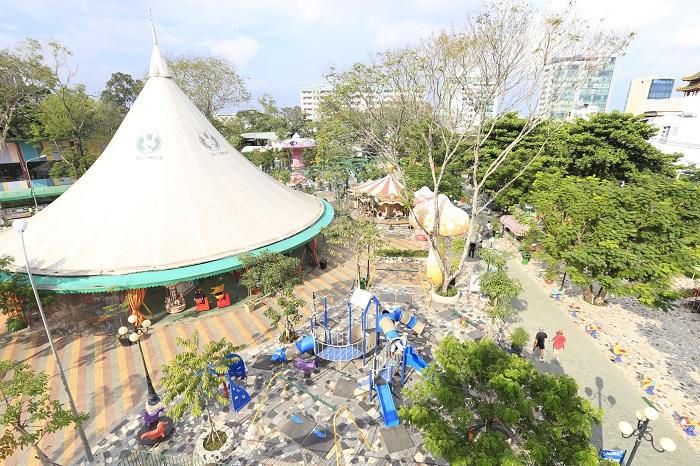 Công viên Thỏ Trắng Lê Thị Riêng - khu công viên