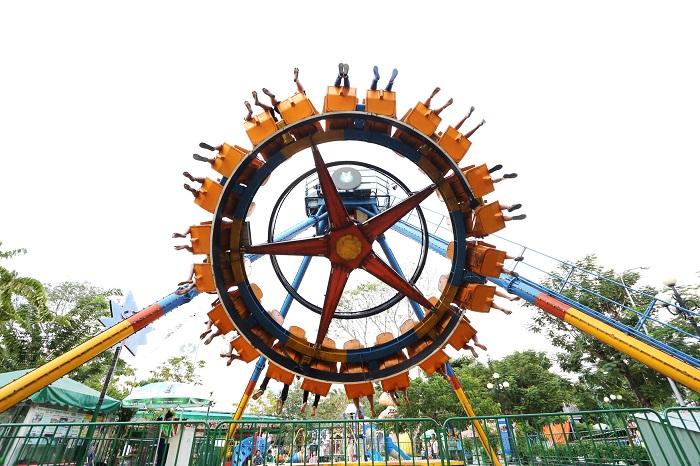 Công viên Thỏ Trắng Lê Thị Riêng - trò chơi