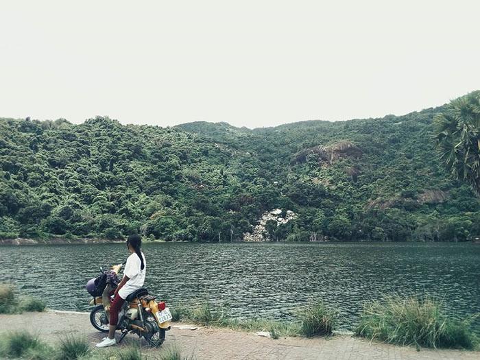Săn ảnh ở hồ Latina An Giang - thiên nhiên thanh bình