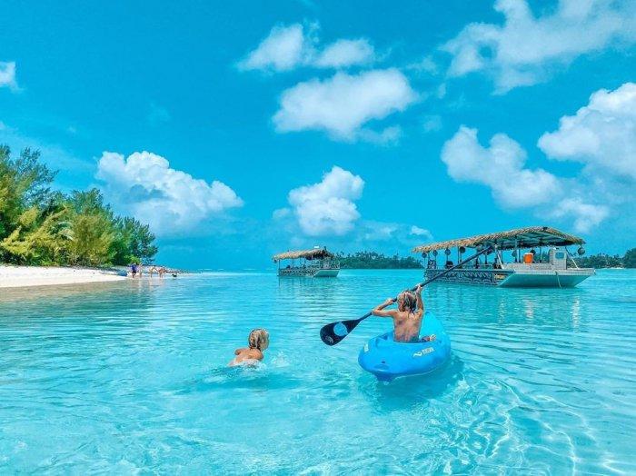 Đảo Aitutaki và đầm phá của nó - Quần đảo Cook