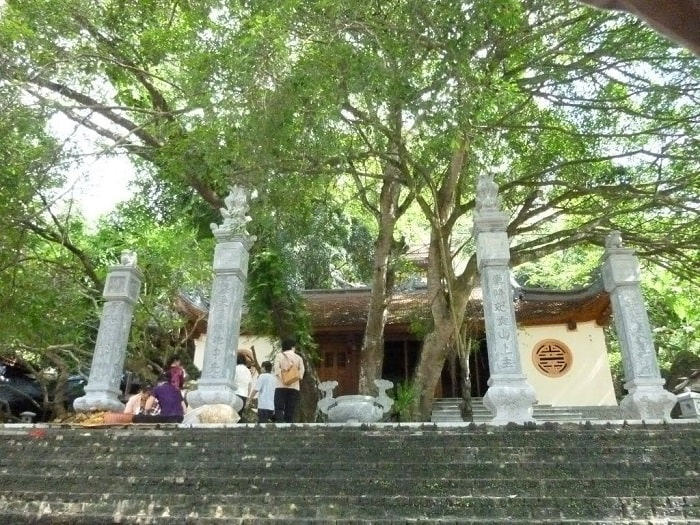 Forbidden Temple - attractions near Mount Dom . tourist area