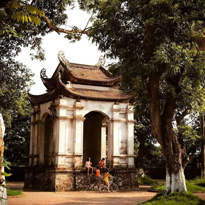 đền đa hòa du lịch Khoái Châu