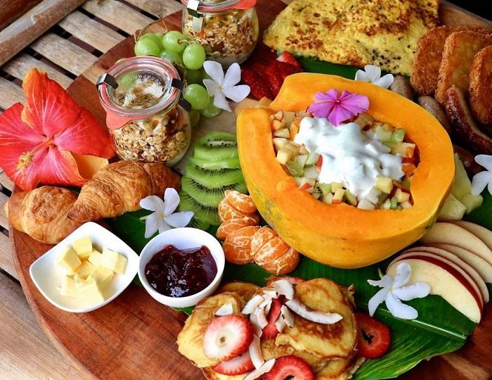 Nhiều loại trái cây tươi ngon Quần đảo Cook
