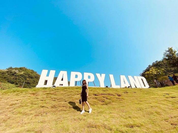 Đôi nét về khu du lịch Happy Land Mộc Châu