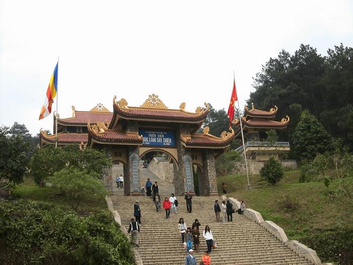 Thời điểm thích hợp đến Thiền Viện Trúc Lâm Tây Thiên