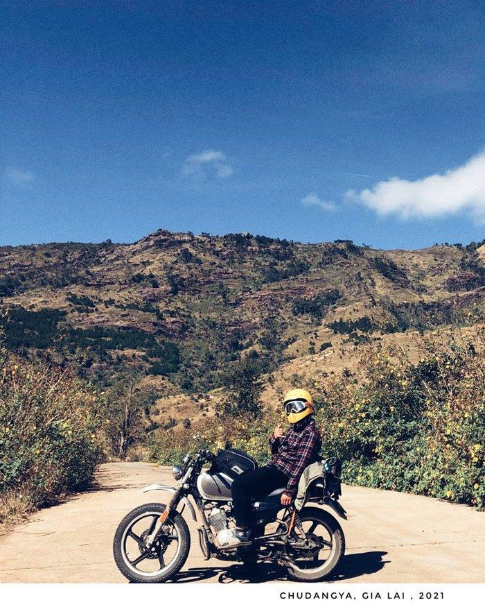 Check-in  đường lên chư đăng ya con đường đẹp ở Gia Lai