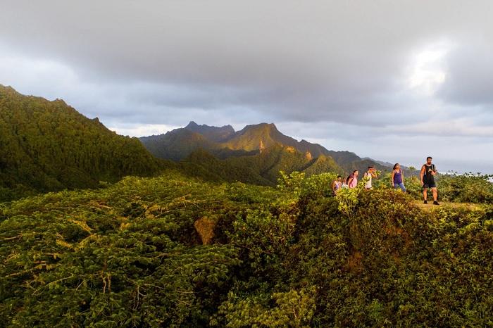 Đi bộ trên đảo chính Rarotonga  - Quần đảo Cook
