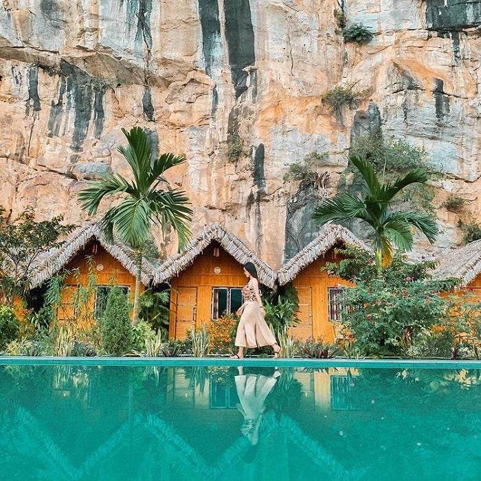 Kiến trúc của Tràng An Valley Bungalow