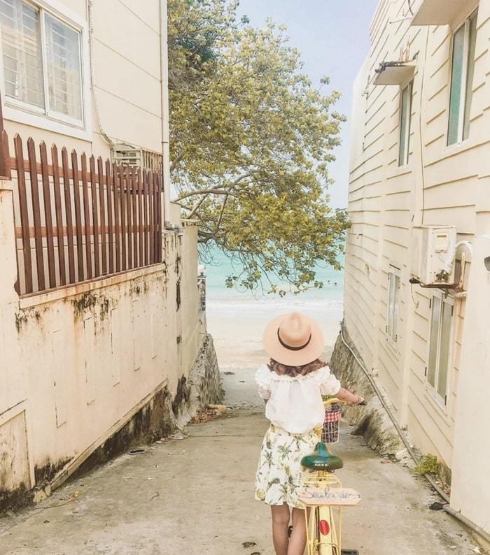 Alley 107 - 109 Tran Phu - a virtual alley in Vung Tau, every photo is 'thousands of likes'