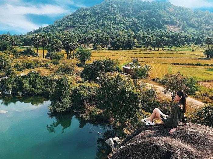 Săn ảnh ở hồ Latina An Giang - Hồ Đá