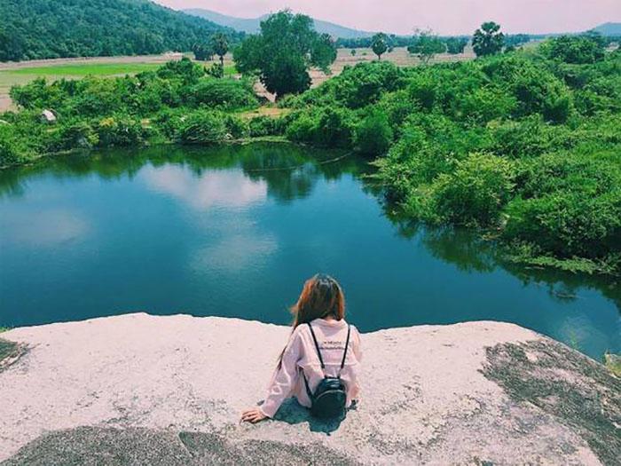 Săn ảnh ở hồ Latina An Giang - giữa địa phận Tịnh Biên và Tri Tôn
