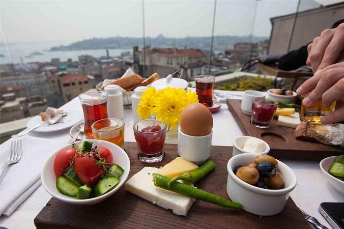 Bữa sáng Thổ Nhĩ Kỳ - Những món ăn sáng ngon nhất châu Á