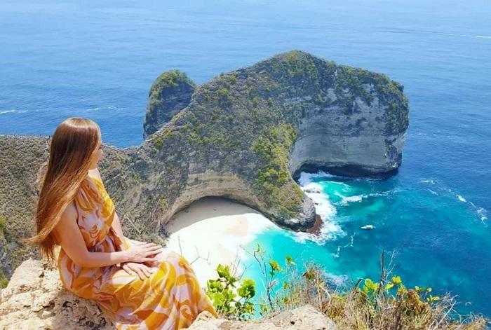 Bãi biển Kelingking - Đảo du lịch ở Indonesia