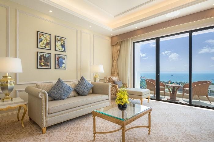Combo nghỉ dưỡng VinOasis Phú Quốc - thiết kế phòng nghỉ
