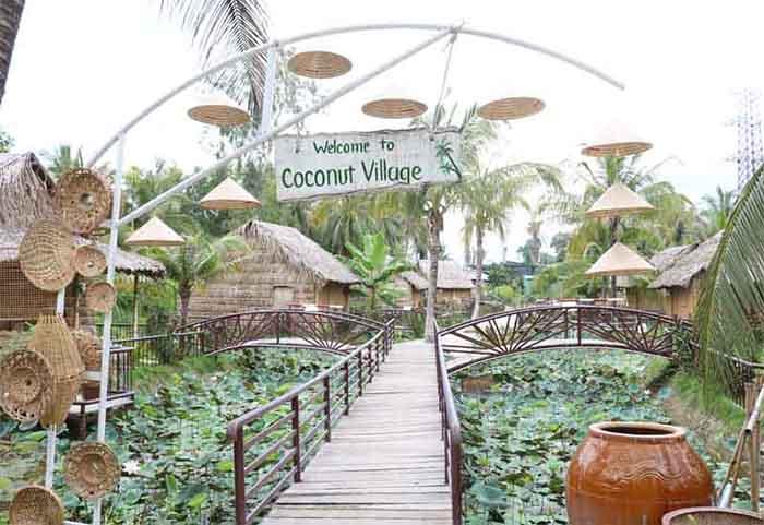 Check in khu du lịch Làng Xanh - Khu nhà lưu trú
