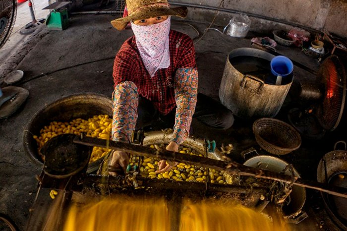 Thăm làng nghề ươm tơ Hồng Lý