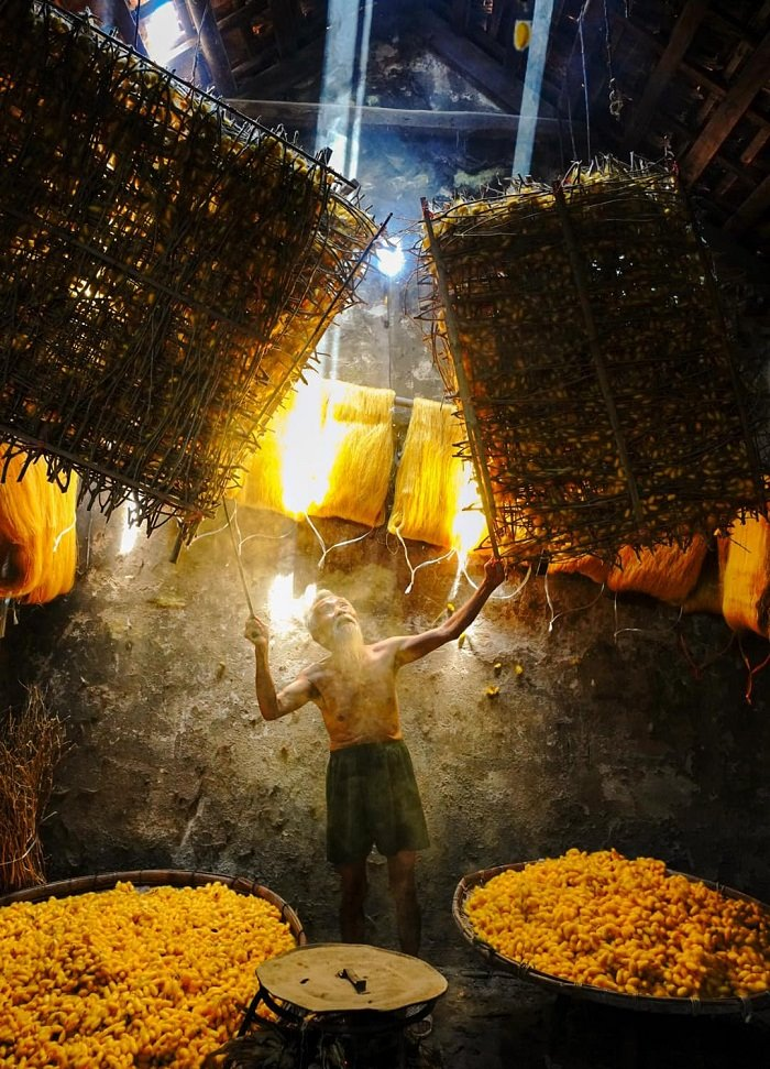 Lịch sử làng nghề ươm tơ Hồng Lý