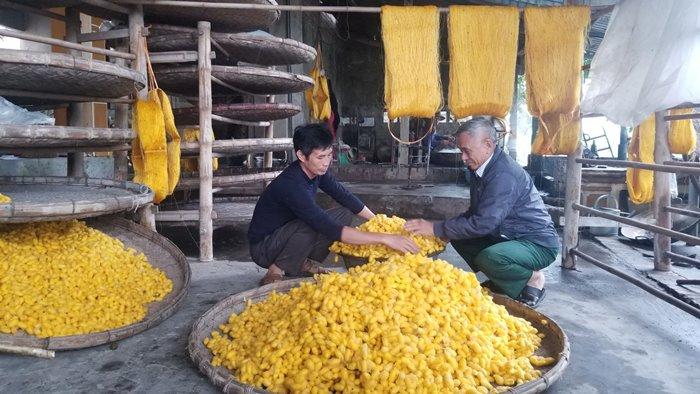 du lịch Làng nghề ươm tơ Hồng Lý
