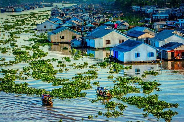 thời điểm du lịch An Giang lý tưởng - Làng nổi Châu Đốc