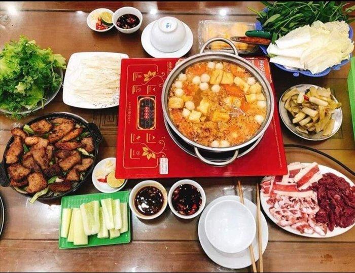 Phuc Beo grilled hot pot in Hai Duong