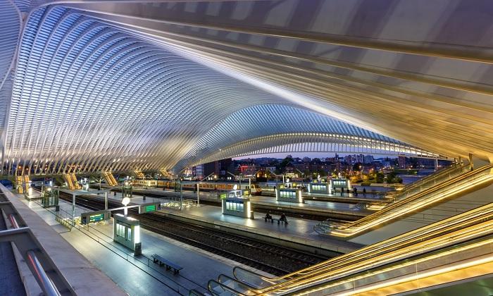 Nhà ga thành phố Liège - Guillemins - Nhà ga đẹp trên thế giới