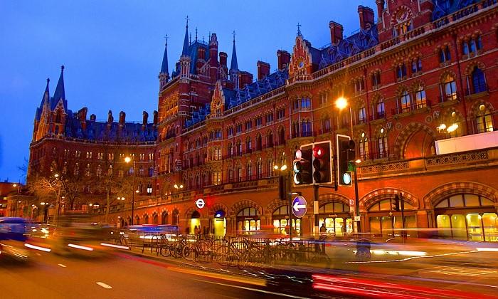 Nhà ga St. Pancras International ở London - Nhà ga đẹp trên thế giới