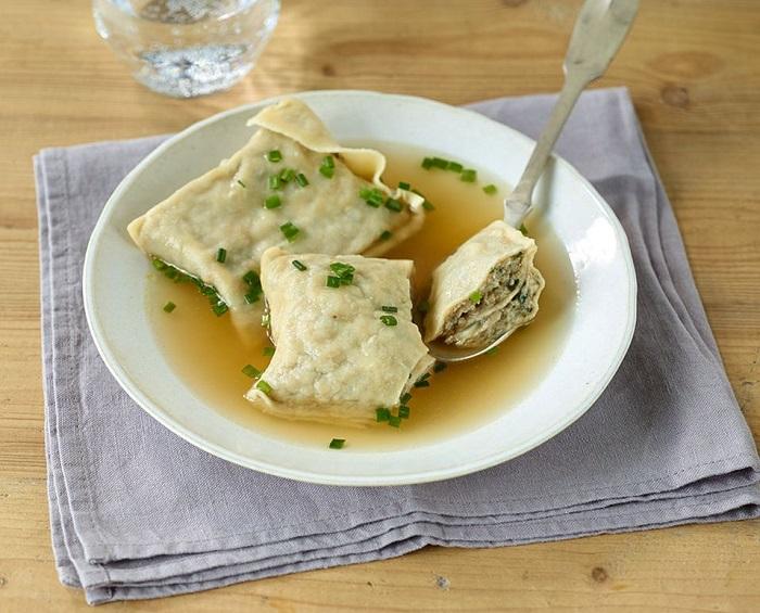 Món Maultaschen - Món ăn truyền thống ở Đức
