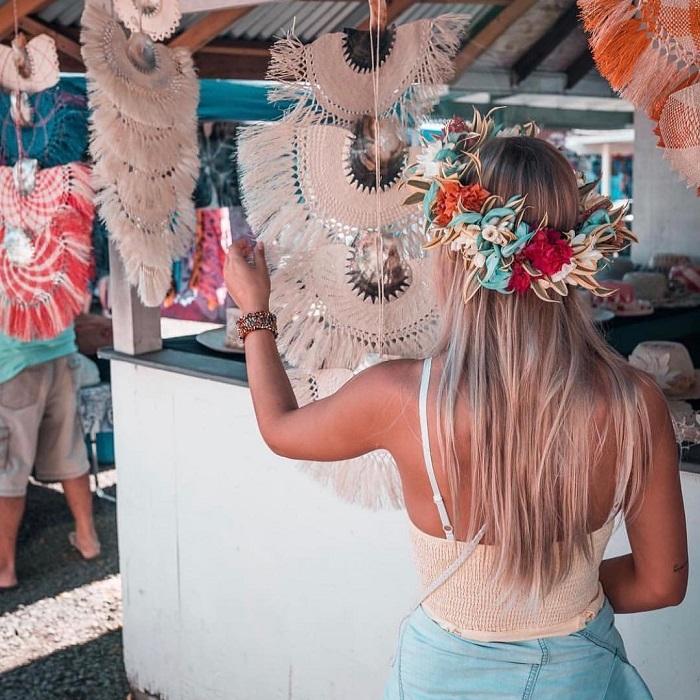Những sản phẩm nghệ thuật địa phương - Quần đảo Cook