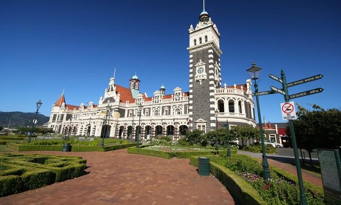 Nhà Ga Dunedin, New Zealand - Nhà ga đẹp trên thế giới