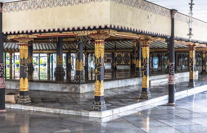 Cung điện Yogyakarta - Du lịch Yogyakarta - thủ đô văn hóa của Indonesia