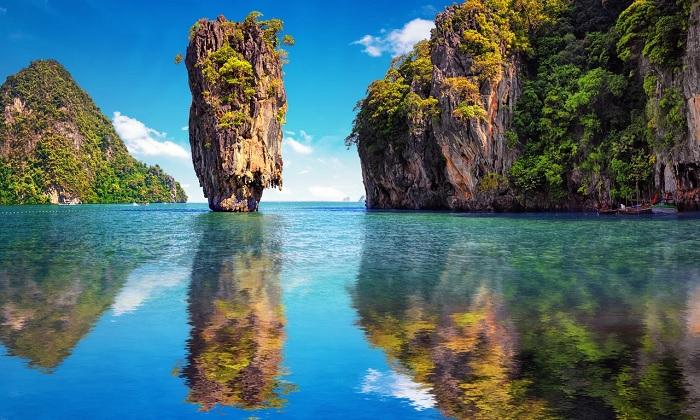 Đảo James Bond - Vịnh đẹp nhất thế giới