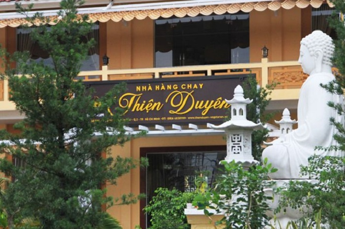 Pháp Viện Minh Đăng Quang - nhà hàng chay