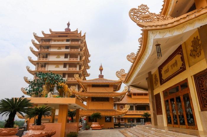 Pháp Viện Minh Đăng Quang- kiến trúc đẹp
