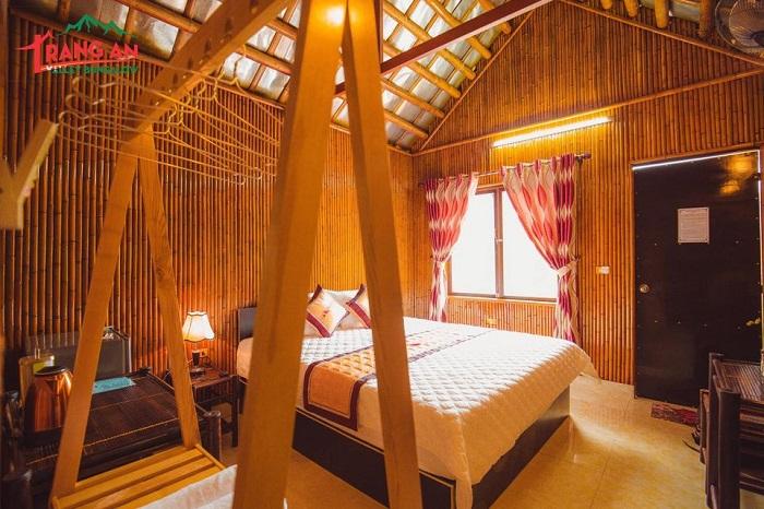 Phòng giường đôi tại Tràng An Valley Bungalow