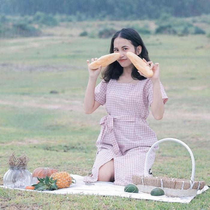 Picnic - interesting activity at My Binh lake