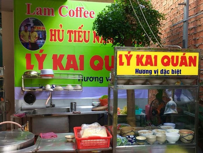quán ăn sáng ngon ở Sài Gòn - quán Lý Kai Quán