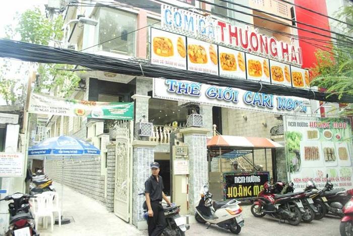 quán ăn trưa ở Sài Gòn - cơm gà Thượng Hải